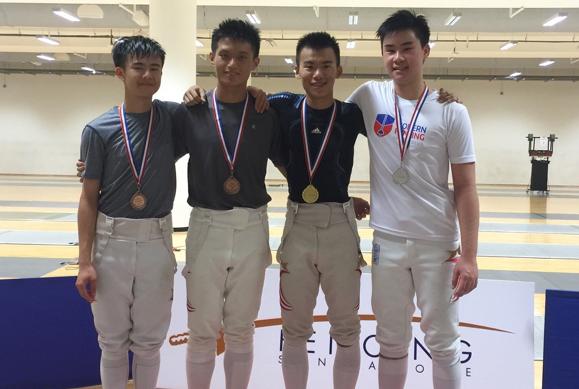 Abf Fencers At The National Junior And Senior Fencing